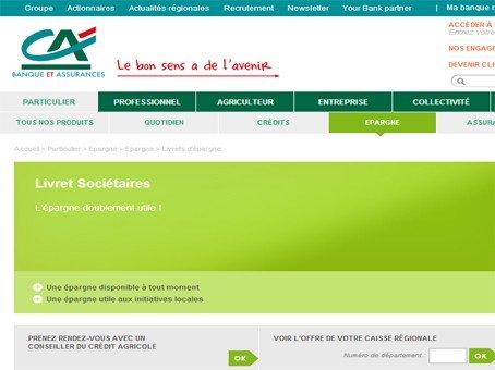 Cr dit agricole csl soci taire - Plafond livret developpement durable credit agricole ...