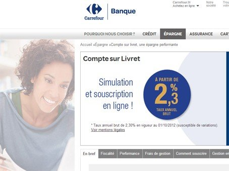 carrefour banque livret carrefour banque les livrets d 39 pargne. Black Bedroom Furniture Sets. Home Design Ideas